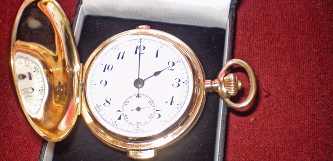 Vreckové hodiny